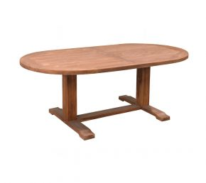 Garden Table Closther Oval 210x100 cm