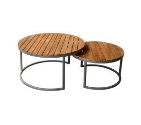 Brix Outdoor Jamie Antraciet set van 2
