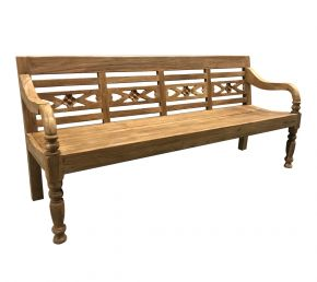 Garden Station Bench Fix Kasar 200 cm