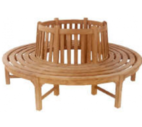 Garden Bench Tree Round 220cm